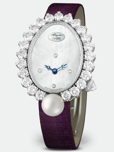 Breguet High Jewellery Replica Watches With White Dials