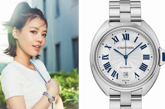 Why Chinese Actresses All Fancy Clé de Cartier Replica Watches?