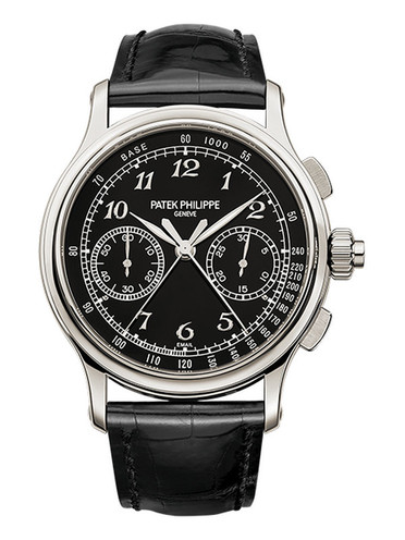 Patek Philippe Grand Complications Chronograph Replica Watches With Platinum Cases