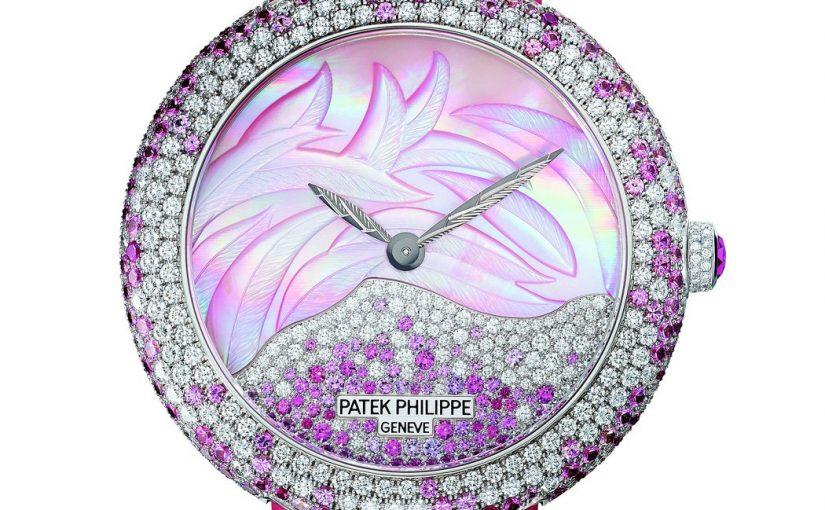 Best Combination Of Advanced Tabulation Technology And Gem Inlay Art: Petak Philippe Calatrava Fake Watches