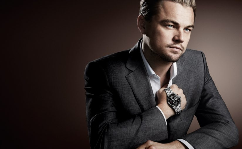 Leonardo Dicaprio With His Fantastic TAG Heuer Carrera Replica Watches