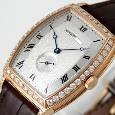 Breguet Heritage Fake Cheap Watches With Brown Leather Straps Of Good Quality
