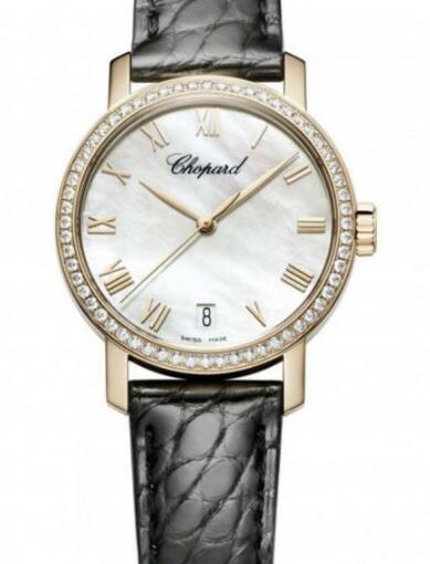 A perfect Choice: Chopard Classic Replica Watches With Shiny Diamond Bezels