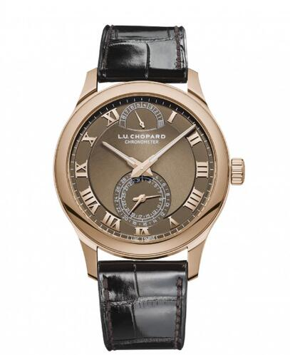 Elegant Chopard L.U.C Fake Men's Watches With Brown Dials As A Proper Choice