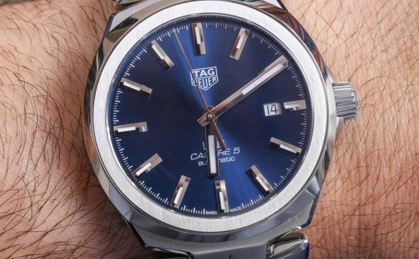 A Proper Choice: 41MM TAG Heuer Link Men's Watches Fake With Decent Blue Dials