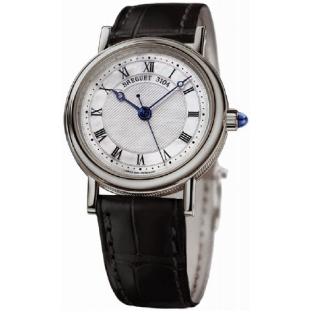 The silver dials are broad and concise, carried with decent and gentle styles.