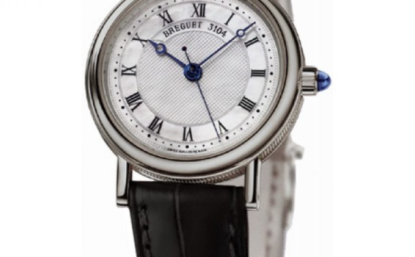 Soft Black Leather Straps Breguet Classique Fake Watches For Cheap Sale