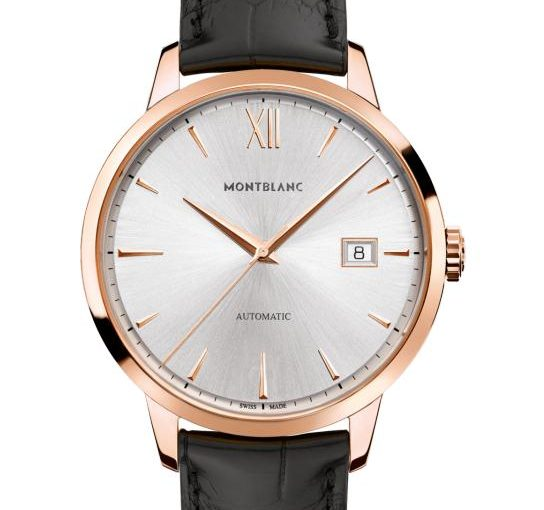 Gentlemen's Favorite: Gentle Rose Gold Cases Montblanc Heritage Spirit Fake Watches