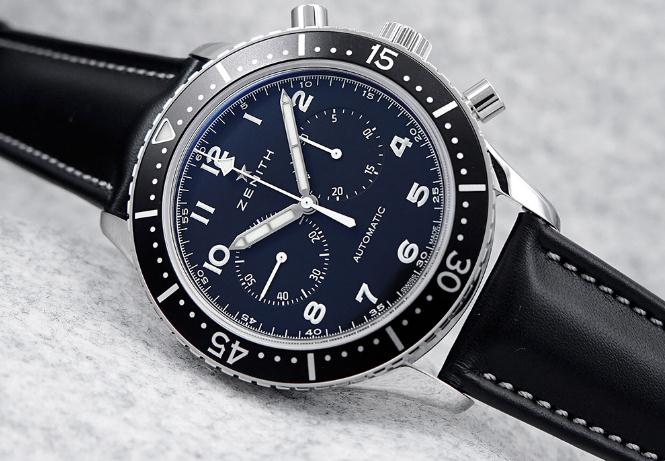 The main color black makes the timepieces look reliable and decent.