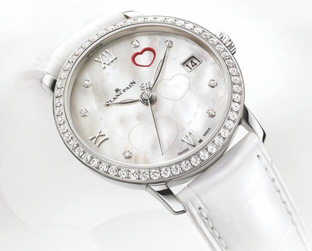 Swiss-made knock-off watches are combined with diamonds and Roman numerals.