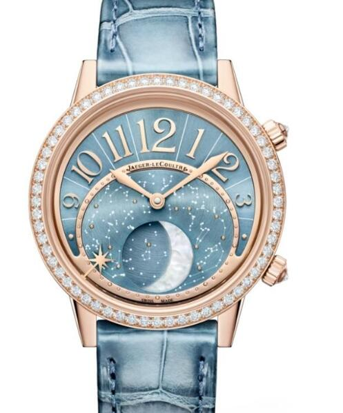 Hot-selling reproduction watches are chic with blue color.