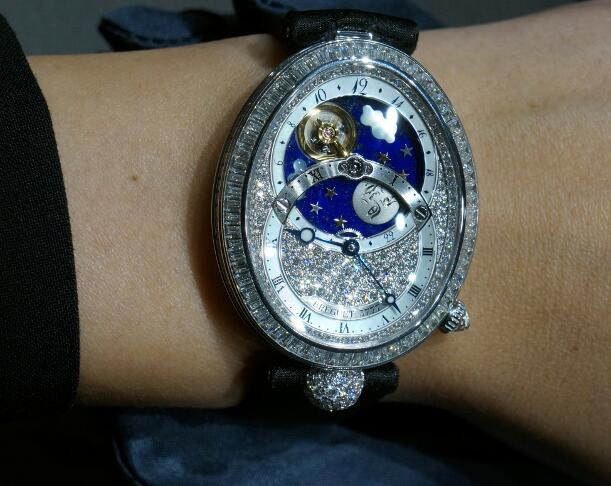Fancy Breguet Reine De Naples Replica Watches Witness Pretty Moon Time