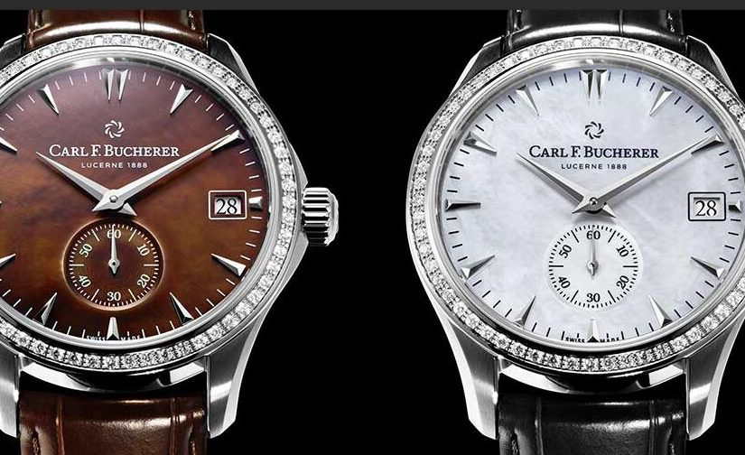 Gorgeous Swiss Carl F. Bucherer Manero Peripheral Fake Watches Add Brilliance