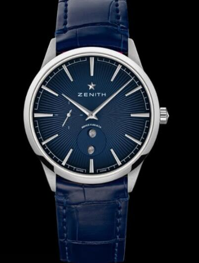 The blue Zenith is suitable for formal occasions.
