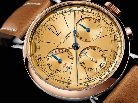 The timepiece has reproduced the appearance of the original ref.1533.