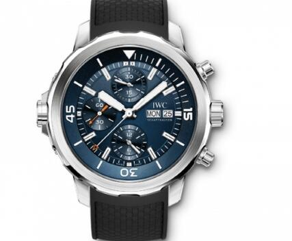 The IWC will enhance the charm of modern men perfectly.