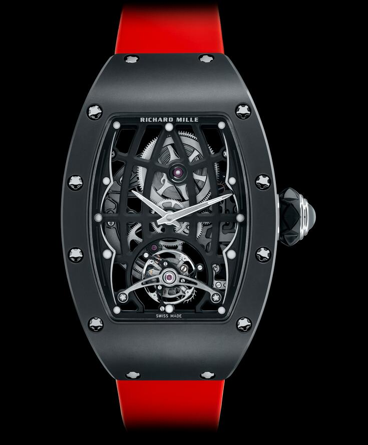 AAA reproduction watches seem showy for red color.