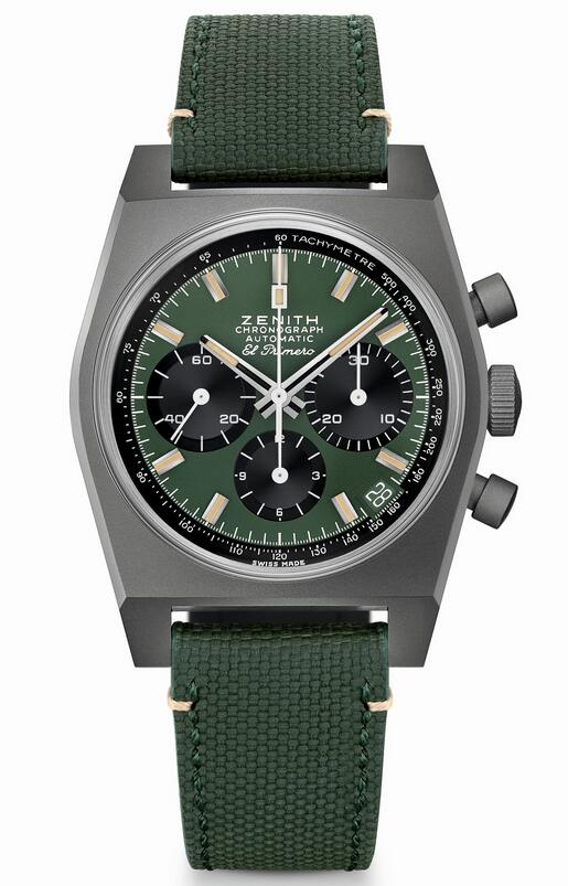 AAA reproduction watches lead the fashion with khaki green color.