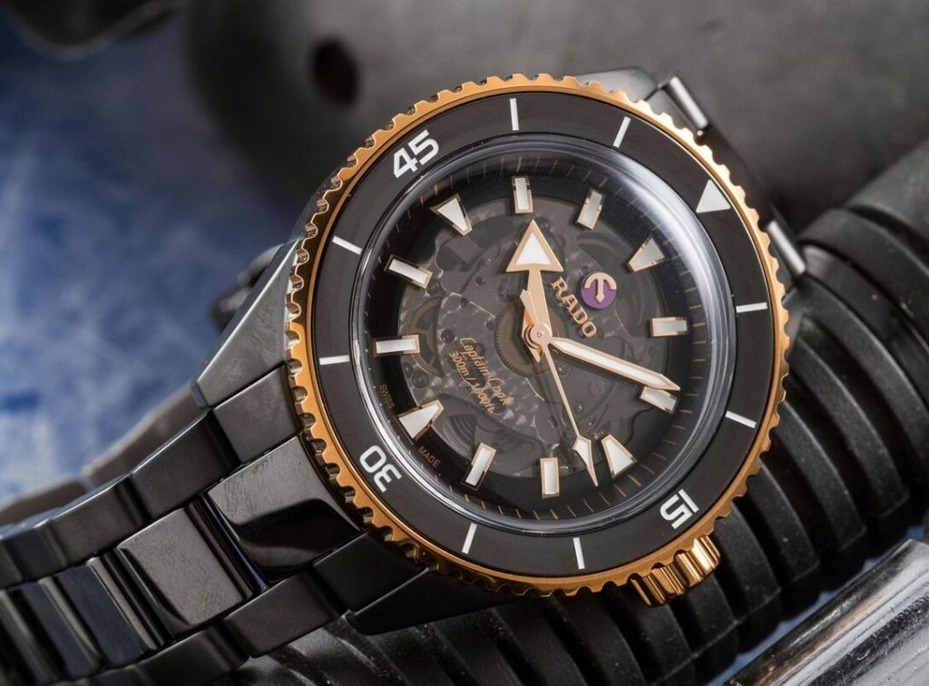 Mystery is reached by the black dials of the replication watches online.